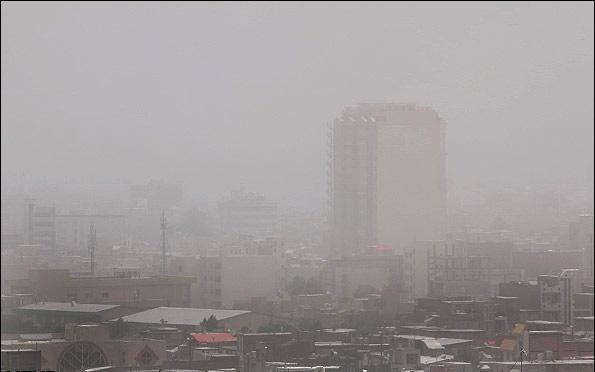 سایه سنگین ریز گردها بر آسمان استان ها