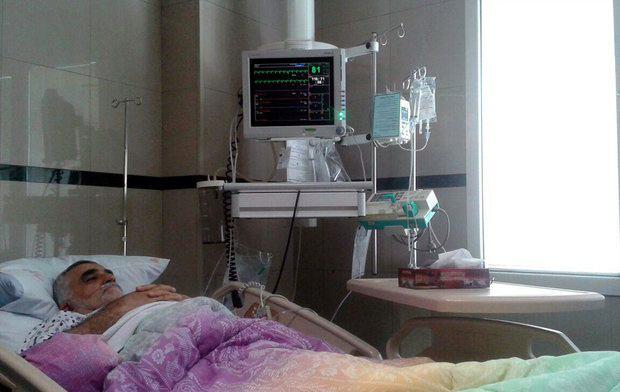 علاءالدین بروجردی در بیمارستان بستری شد + عکس