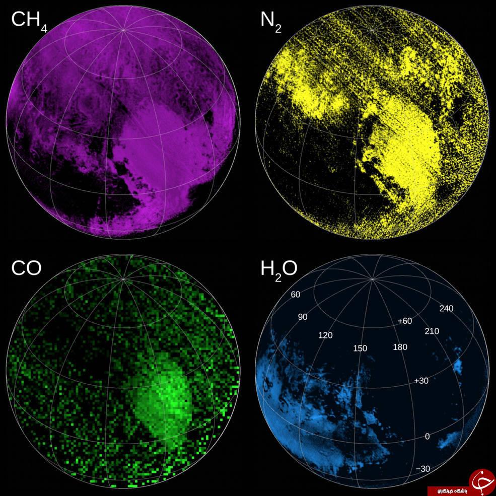 10 عکس شگفت آور سیاره پلوتو/ از قلب تا مه آبی دورترین سیاره منظومه شمسی