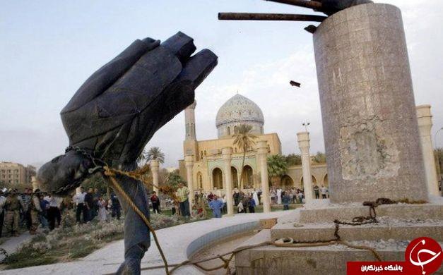 مصر العربیه: حضور صدام در زمان سرنگونی مجسمه اش