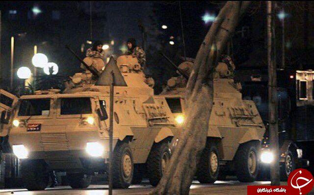 افسران فتح الله گولن قصد کودتا داشتند/ پرواز جنگنده ها و هلکوپترهای نظامی/ شنیده شدن صدای تیراندازی+تصاویر
