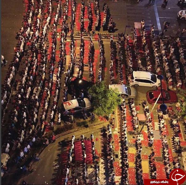 نماز صبح بعد از کودتا در کجا برگزار شد؟