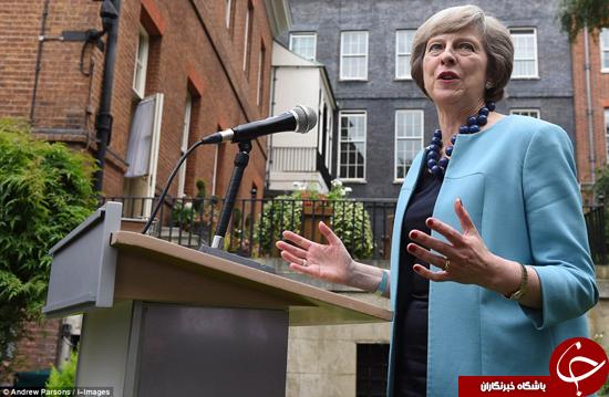 نخست وزیر بریتانیا در دانشگاه آکسفورد +عکس