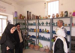 روستای مند گناباد کاندیدای پروژه توسعه صنایع دستی روستایی کشور