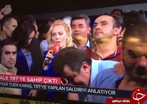 بر مجری زنی که خبر کودتا در ترکیه را اعلام کرد، چه گذشت؟+ عکس
