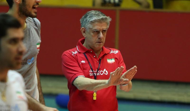 در راه خلق حماسه/ لوزانو 12 مرد المپیکی والیبال ایران را معرفی کرد