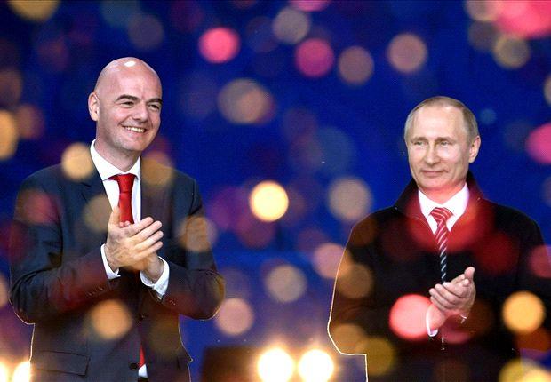 حمایت فیفا از میزبانی روسیه  با وجود رسوایی دوپینگ