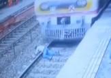 باشگاه خبرنگاران - خودکشی دلخراش یک مرد در ایستگاه مترو + فیلم(16+)