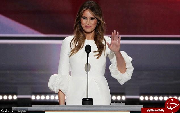 آیا همسر ترامپ از میشل اوباما تقلید کرد؟