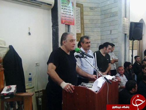 برگزاری مراسم چهلم حبیب+تصاویر