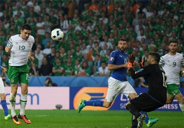 ایتالیا 0 - ایرلند 1 / تیم دوم کونته ، ایرلند را به مرحله بعد فرستاد