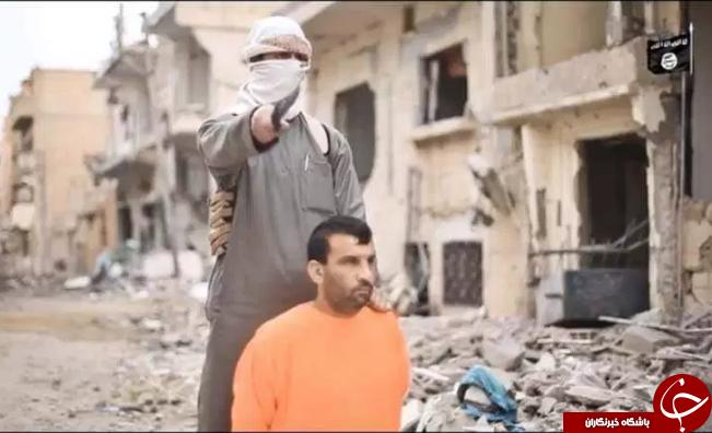 اعدام فجیع چند فرد به دست داعش به اتهام جاسوسی (تصاویر 18+)