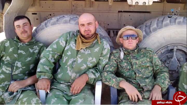 کشته شدن سه سرباز روس به دست داعش+تصاویر