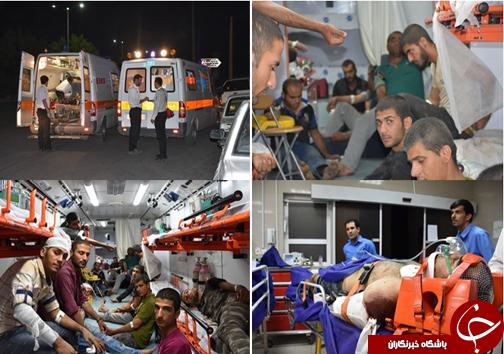 ورود قائم مقام وزیر بهداشت برای عیادت مصدومان تصادف در فارس + تصاویر