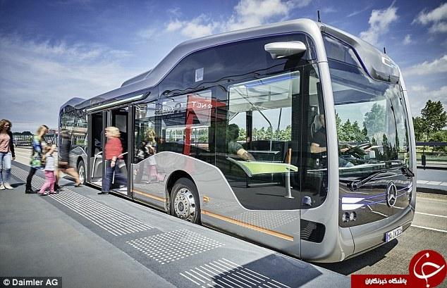اولین اتوبوس بدون سرنشین ساخته شد+تصاویر