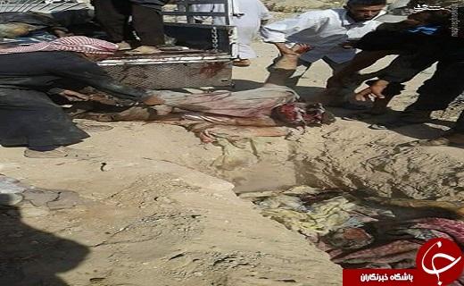 قتل عام روستائیان سوری توسط آمریکا+عکس(18+)