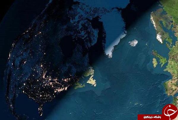 تصویر ناسا از مرز بین شب و روز + عکس