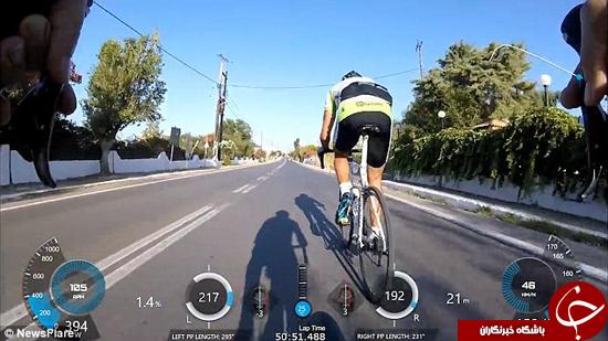 لحظه خطرناکی که تقریبا همه با دوچرخه تجربه کردهاند +تصاویر