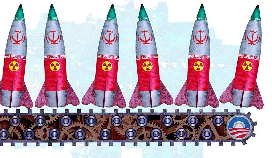 واشینگتن تایمز: توهمات اوباما درباره ایران/برجام، مانع افشای تخلفات ایران+تصویر تأملبرانگیز این روزنامه برای تشویش اذهان عمومی