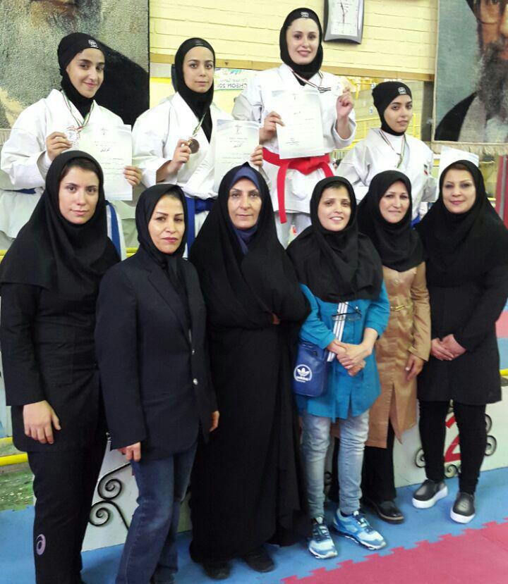 معرفی دختران برتر نوجوان و امید در پایتخت