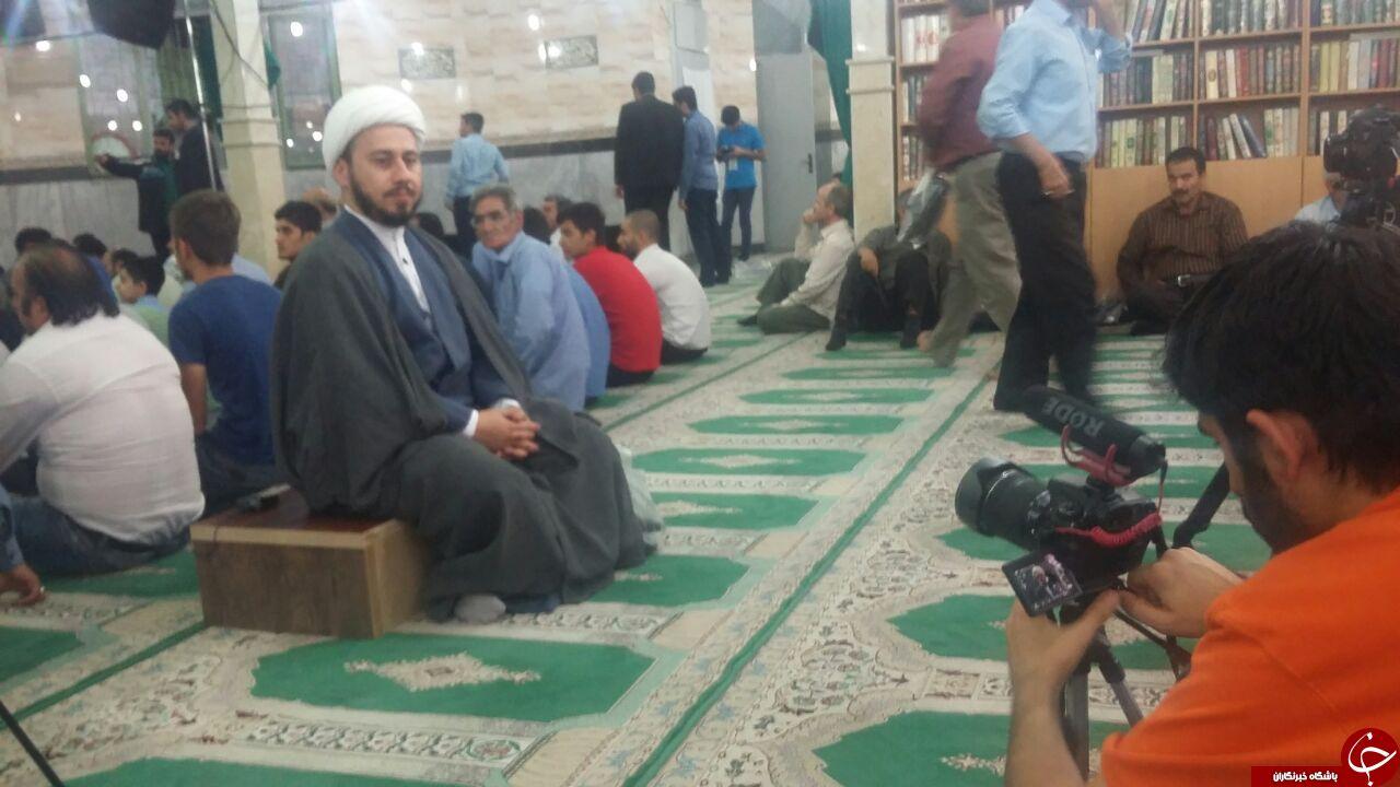 سخنرانی احمدی نژاد در مسجد مسعودیه