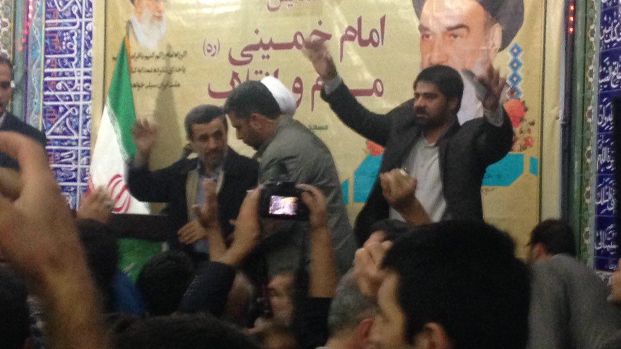 متن کامل سخنرانی احمدی نژاد در مسجد جامع مسعودیه تهران
