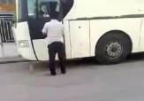 باشگاه خبرنگاران - بازی مرگبار راننده اتوبوس !! + فیلم