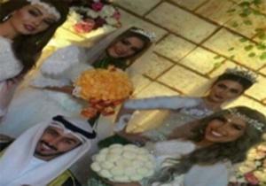 ازدواج همزمان با 4 دختر برای رو کم کنی همسر اول + فیلم و تصاویر
