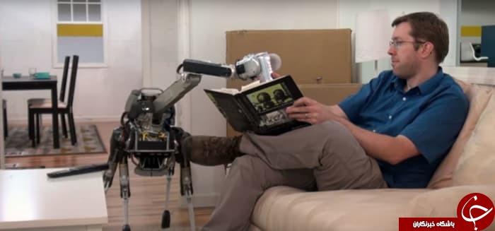 این روبات 4 پا همه کارهای خانه شما را انجام میدهد+تصاویر