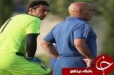 باشگاه خبرنگاران -جلسه منصوريان و كاپيتان/مدافع برزيلی آبی ها در تمرين