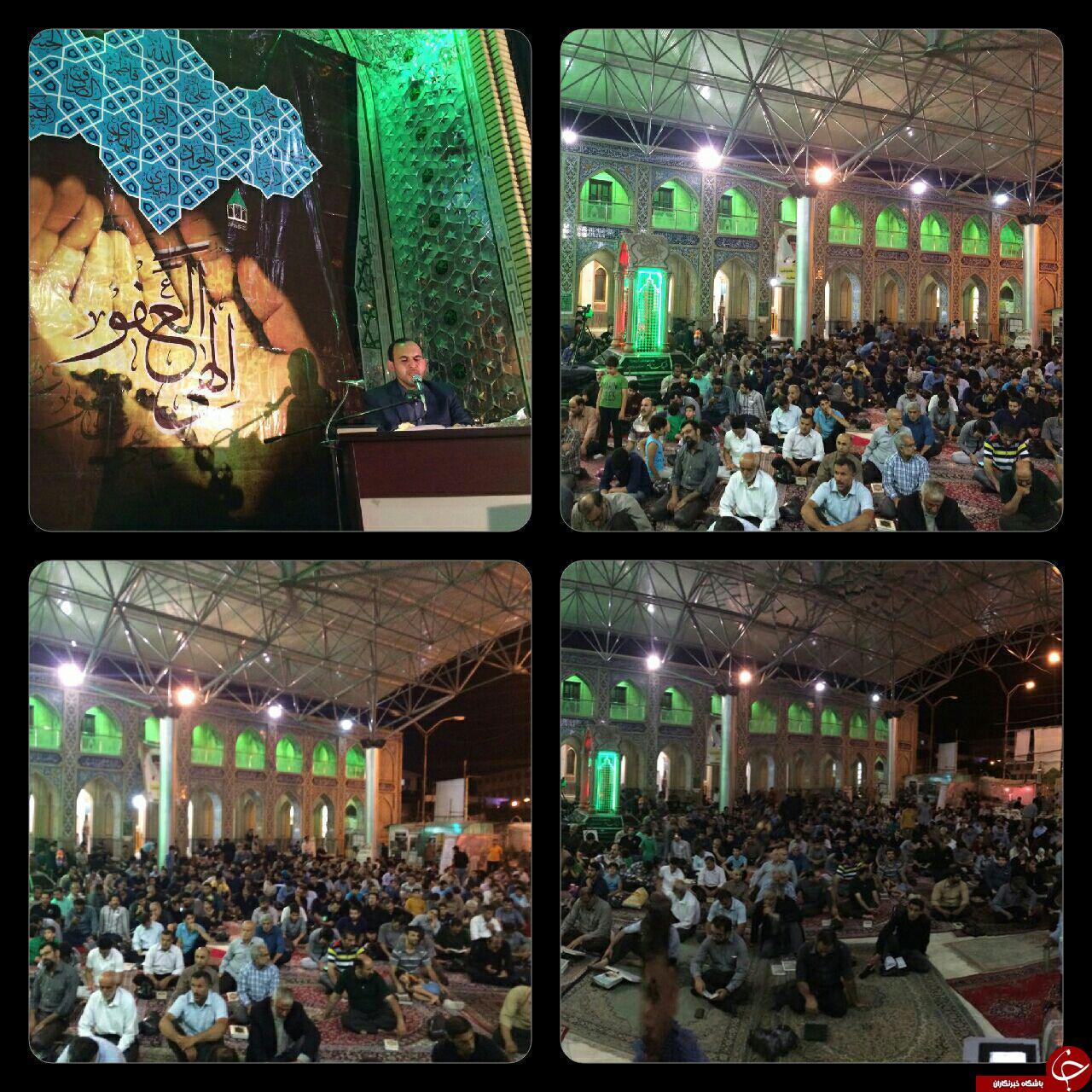 برگزاری مراسم احیاء اولین شب قدر در مازندران+ تصاویر