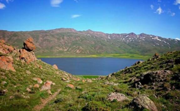 باشگاه خبرنگاران - دریاچه زیبا با طعم آب شیرین + فیلم