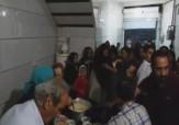 باشگاه خبرنگاران - توزیع افطاری توسط یک موسسه خیریه + فیلم