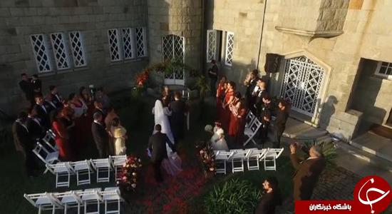 به این میگویند عروسی خراب کن! +تصاویر