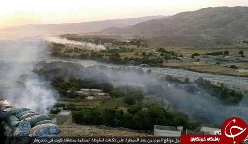 حمله خونین تروریستهای داعش به ایستگاه پلیس ننگرهار+ تصاویر