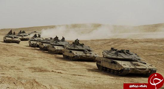 رزمایش ارتش اسرائیل در