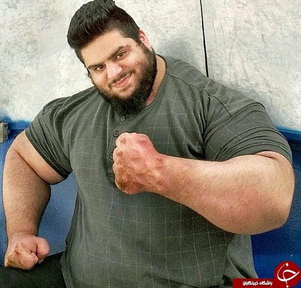 دیلی میل تصویر هالک ایرانی را منتشر کرد + تصاویر