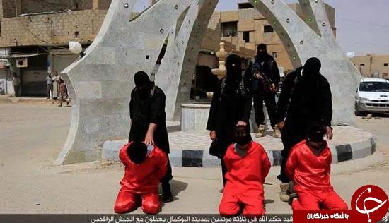 اعدام وحشیانه 6 سوری به دست داعش+ تصاویر