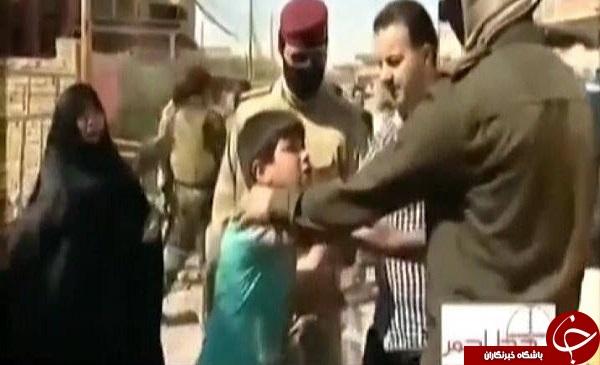 رودر رو شدن داعشی ها با یک خانواده عراقی + فیلم و عکس