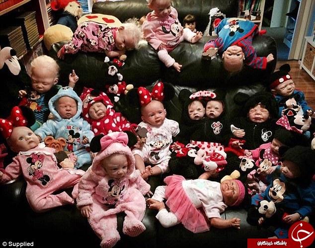این زن 37 بچه دارد+تصاویر