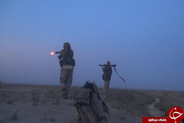 تصویری از به هلاکت رسیدن داعشی ها