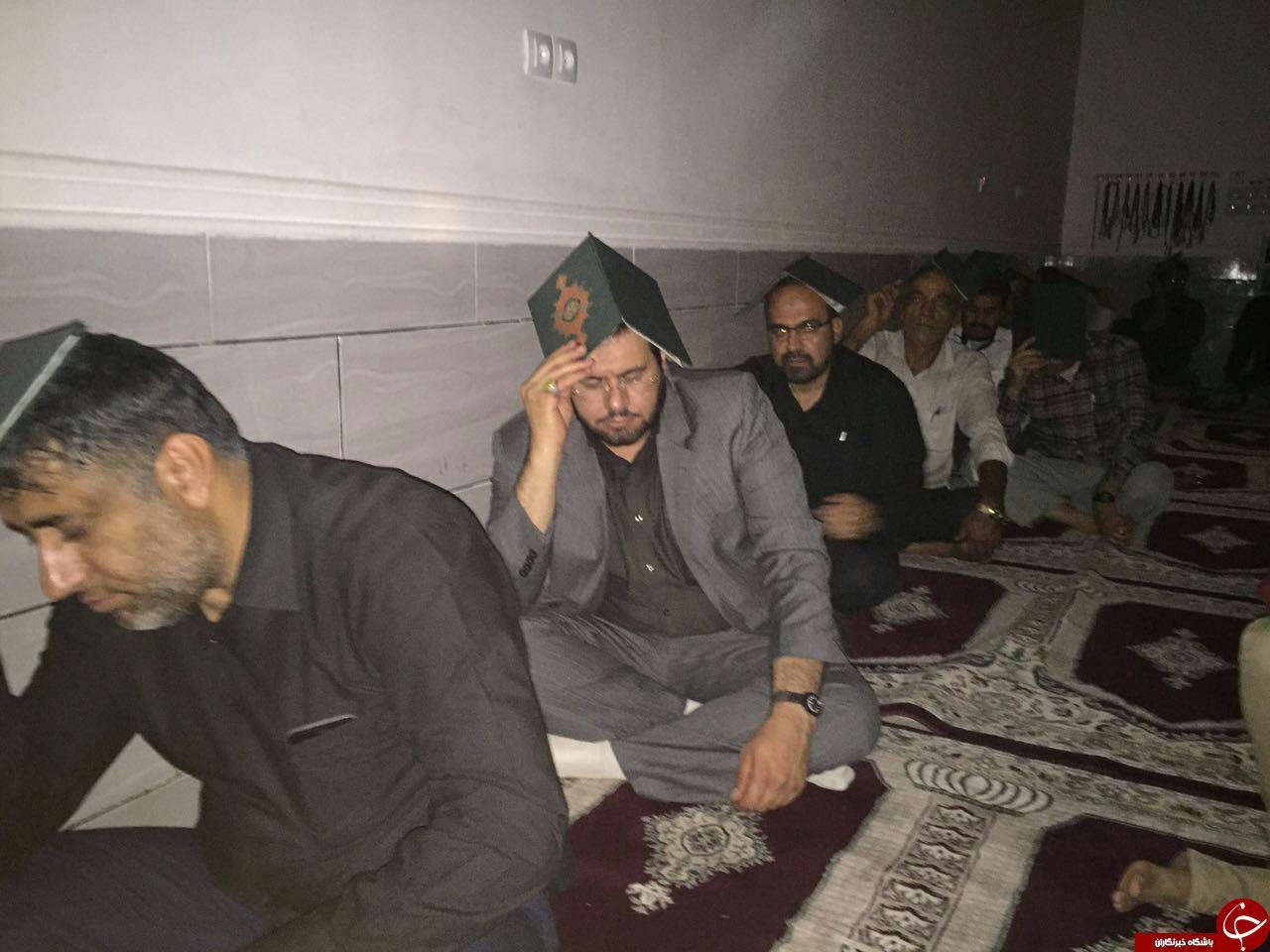 پسر وزیر اطلاعات در شب قدر کجا بود؟ + تصاویر
