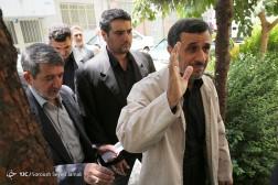 باشگاه خبرنگاران - سخنرانی احمدی نژاد در مسجد نارمک