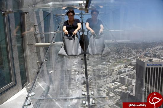 این روزها به جای پله و آسانسور از چه چیزی استفاده کنیم؟ +تصاویر