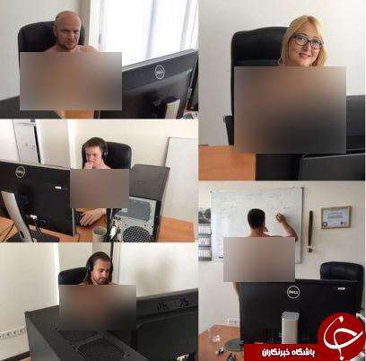 زوال اخلاقی یا منافع ملی؟/مردم بلاروس به درخواست رئیس جمهور در محل کار برهنه شدند!+ تصاویر