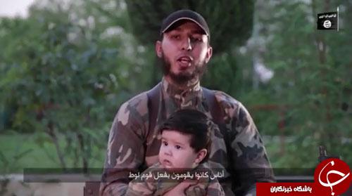جوانترین داعشی یک کودک چند ماهه است+ تصاویر