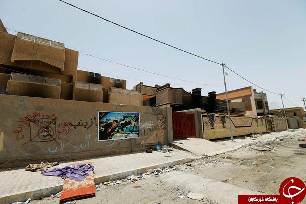خرابی هایی که داعش در فلوجه به بار آورد+ تصاویر