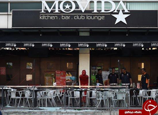 حمله با بمب دستی به میخانه ای در مالزی+تصاویر