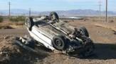باشگاه خبرنگاران - یک کشته بر اثر واژگونی پراید