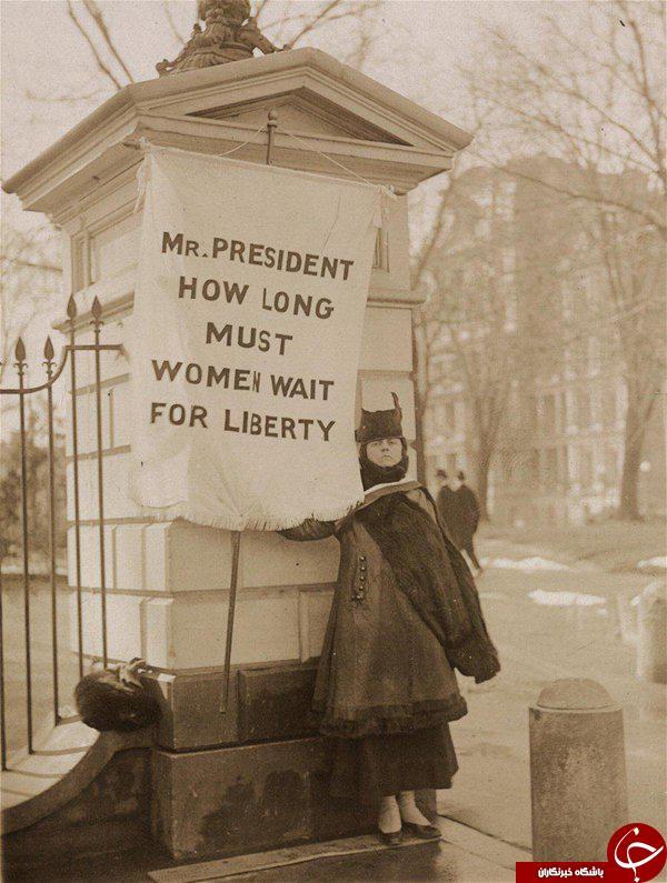 از نصب مقبره لینکلن تا اعتصاب در برابر کاخ سفید + تصاویر